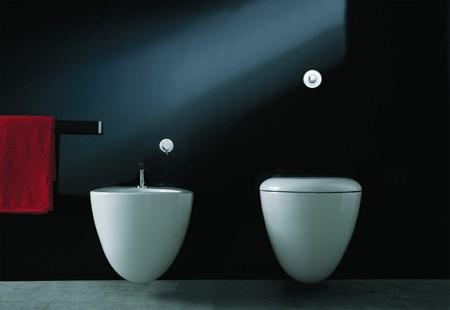 Sanitari sospesi Space Bowl