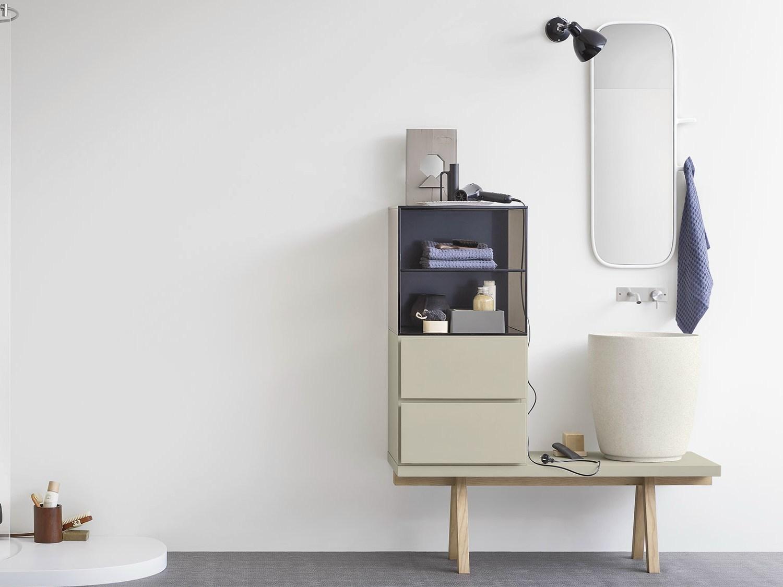Lavandino Bagno Con Mobiletto: Oltre idee su doppio lavabo da ...