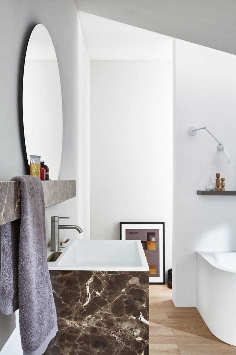 Arredo bagno r1 semplice lineare architettonica - Arredo bagno semplice ...