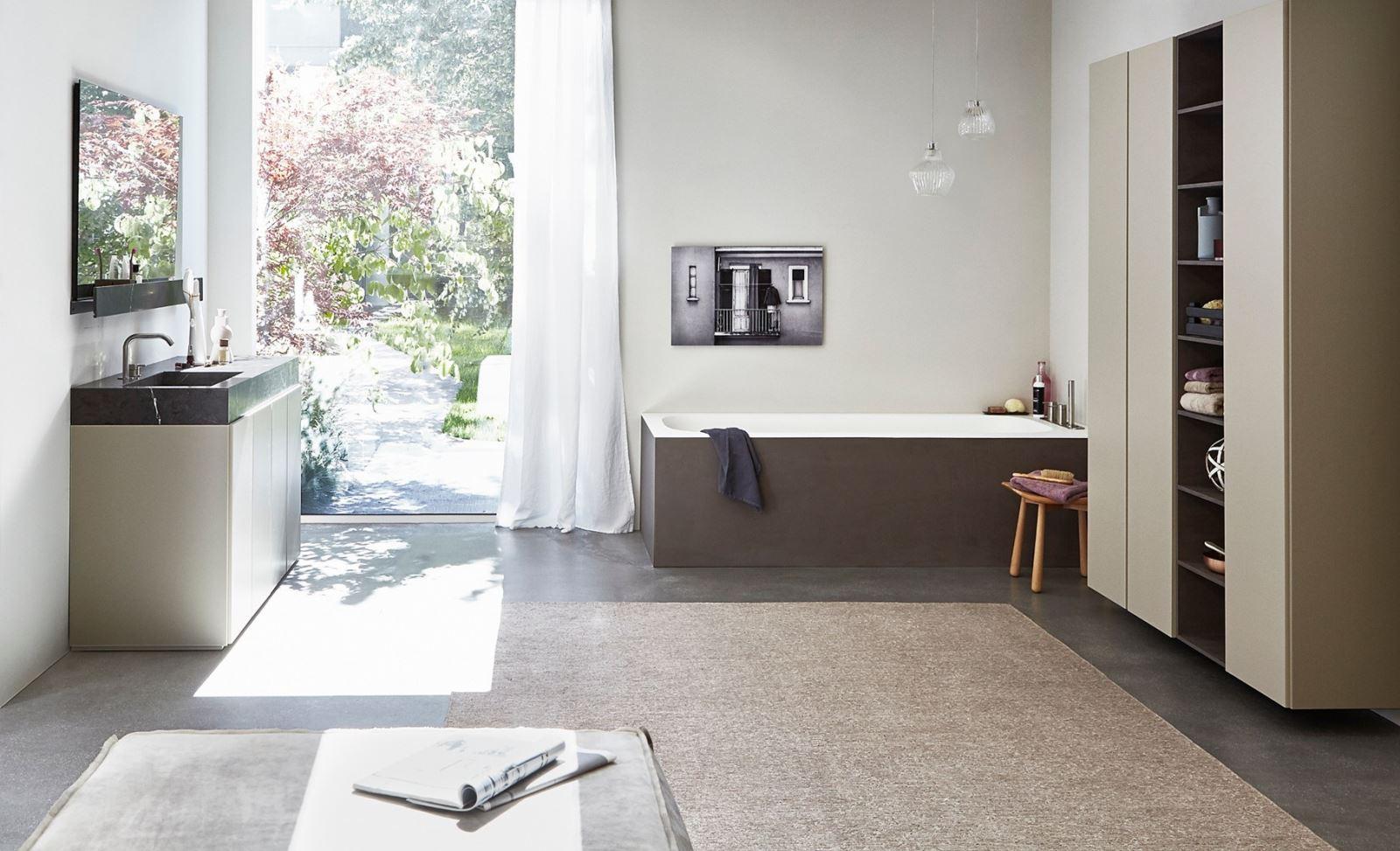 arredo bagno r1, semplice, lineare, architettonica - Arredo Bagno Semplice