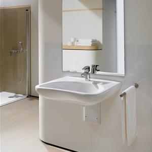 Lavabo bagno disabili - Roca piastrelle bagno ...