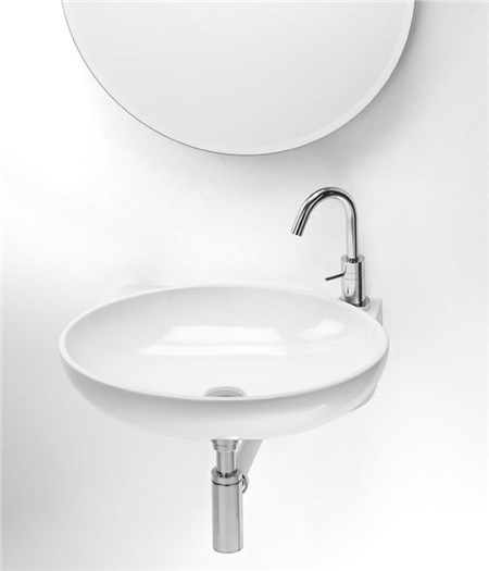 Lavabo thin sospeso for Altezza lavabo sospeso