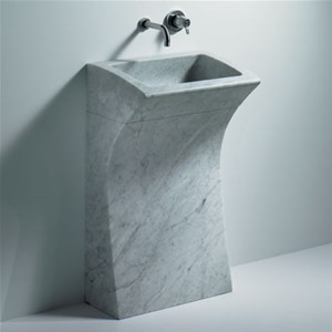 Lavabo a colonna design - CER733