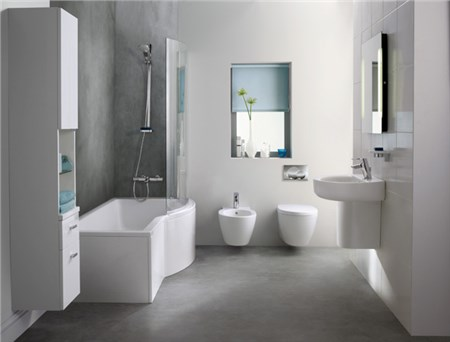 ambiente bagno moderno connect - Ambientazioni Bagni Moderni