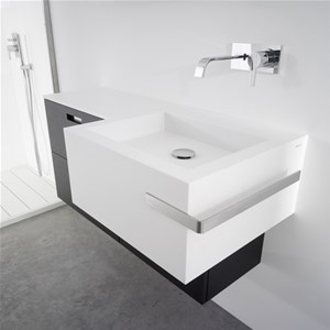 Lavabo Point + Portasalviette FOLD