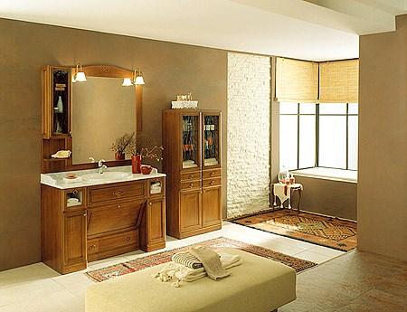 mobili bagno classici, Disegni interni