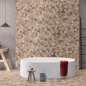 Mosaico Bagno Moderno.Mosaico Bagno