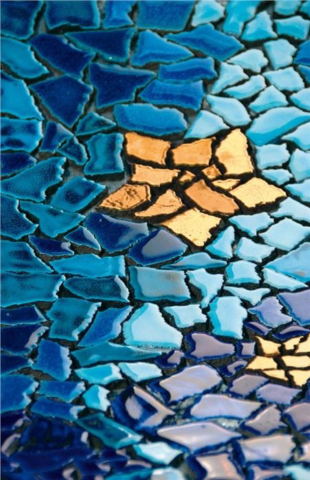 della produzione di pietre laviche Casa Più, la collezione Mosaico ...