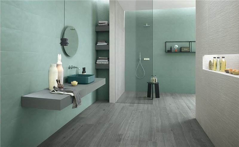 Rivestimento Bagno Moderno Abitare : Piastrelle bagno
