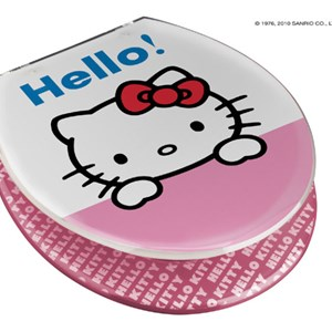 Copriwater Hello kitty