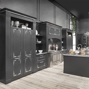 Cucina con isola English Mood Luxury