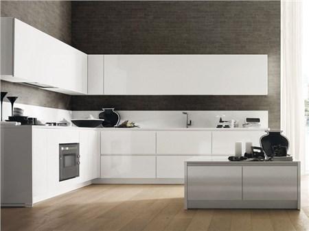 Cucina ad angolo componibile creta corner - Composizione cucina ad angolo ...