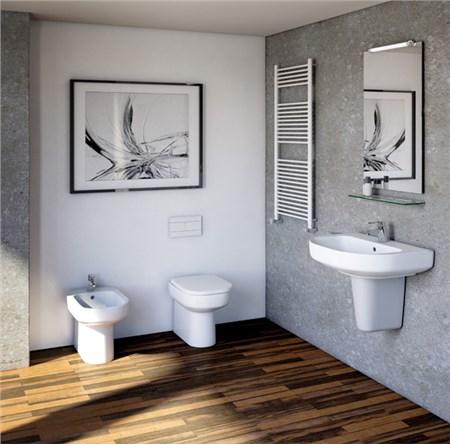 Ambiente bagno cristallo for Arredo bagno semplice