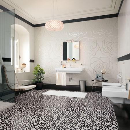 Collezione suite 39 classic bianco 39 - Composizione piastrelle bagno ...