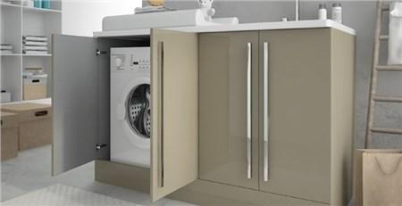 mobile asciugatrice lavatrice ikea : Mobile lavanderia con lavatrice Nemi