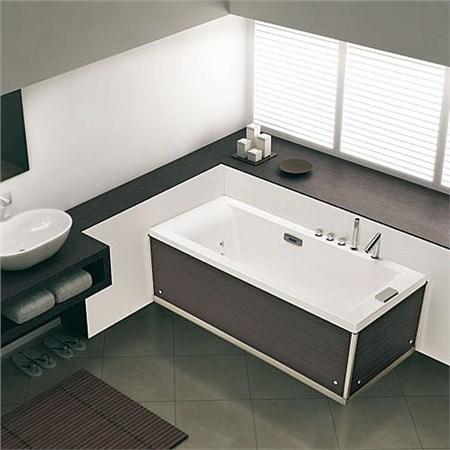 Vasca grandform affordable mezza vasca con box doccia con - Mezza vasca da bagno ...