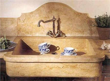 Lavello in pietra - Lavandini da cucina in ceramica ...