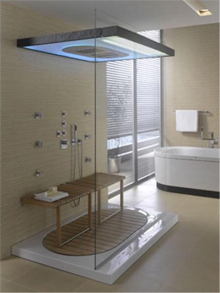 Dal box doccia multifunzione alla zona relax for Mensole per doccia ikea