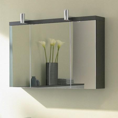 Specchio contenitore con ante 1000 mm - Specchio con ante per bagno ...