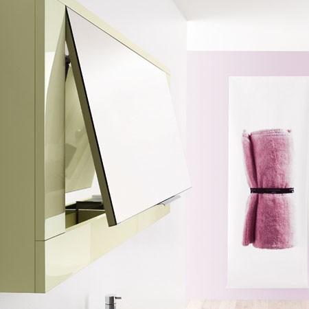 specchio contenitore narciso