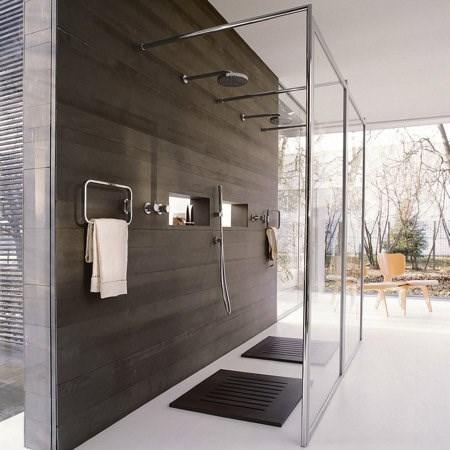 Cabina walk in - Illuminazione box doccia ...