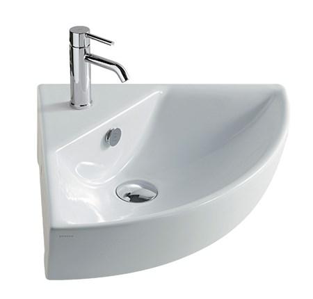 Lavabo angolare 45 cm m2 - Dimensioni lavandini bagno ...