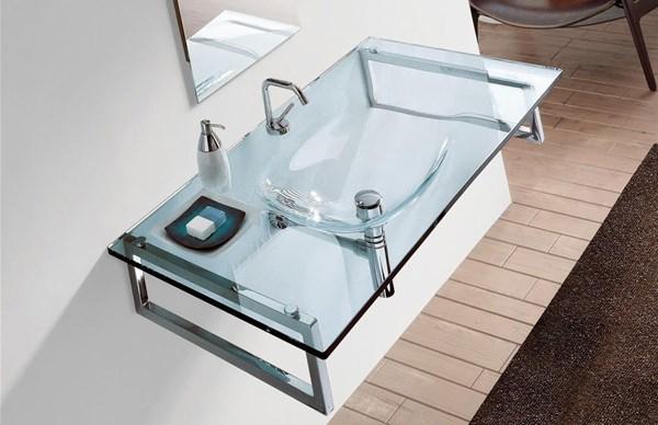 Lavabo In Vetro.Lavabi In Cristallo Per Bagno