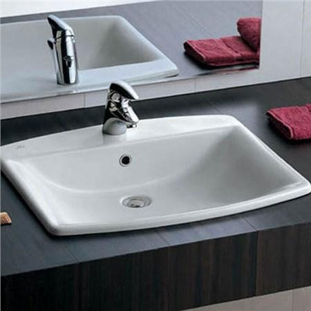 Lavabo incasso 62 cantica - Lavandino bagno da incasso ...