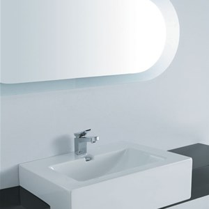Lavabo semi incasso Light Maxi 60