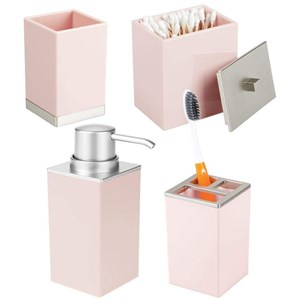 set di accessori bagno elegante