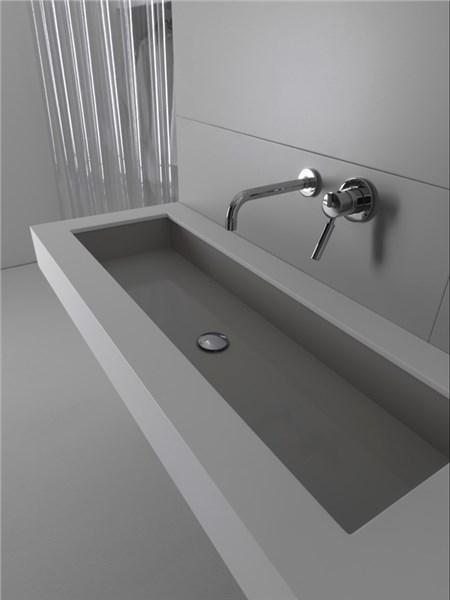Lavabo sottopiano industrialine for Lavabi bagno da incasso