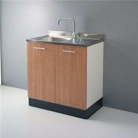 Lavelli inox 80 cm e 120 cm serie top - Mobile sottolavello cucina ...
