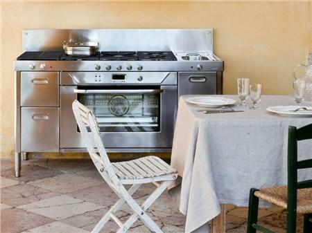 Modulo cucina in acciaio inox