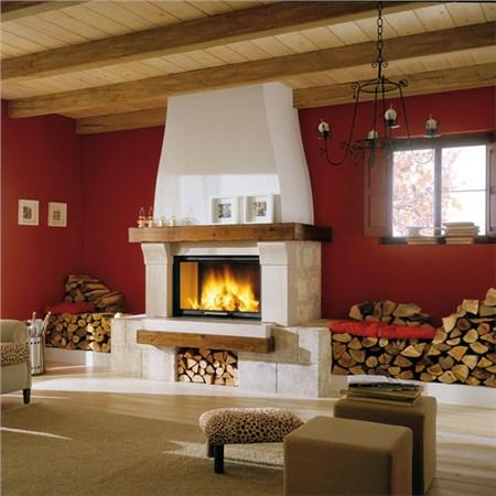 Nuova linea di focolari ideali per cucinare e riscaldare - Camino per cucinare ...