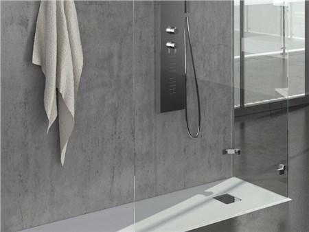 Piatti doccia rettangolari 70 80 90 cm ardesia light - Piatti doccia filo pavimento ...