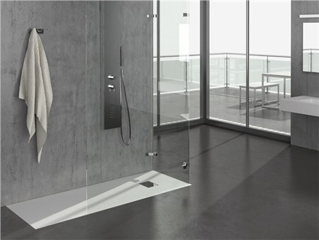 Piatto doccia filo pavimento rettangolare touch - Piatto doccia a filo pavimento svantaggi ...