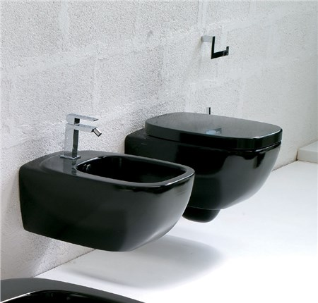 Sanitari bagno sospesi nero dial for Sanitari bagno