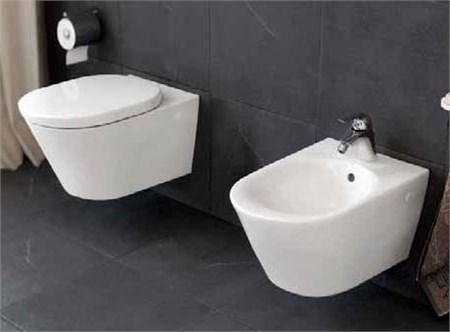 Sanitari sospesi dolomite infissi del bagno in bagno - Quanto costano i sanitari del bagno ...