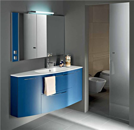 Mobile arco l 140 cm blu navy - Mobili bagno stocco ...