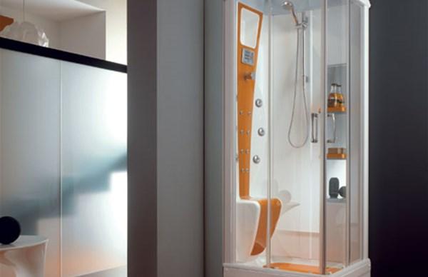 Abaco la cabina doccia di Titan