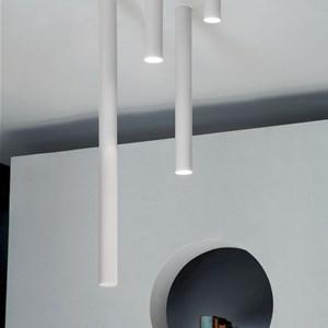 studio italia design illuminazione da soffitto A-Tube
