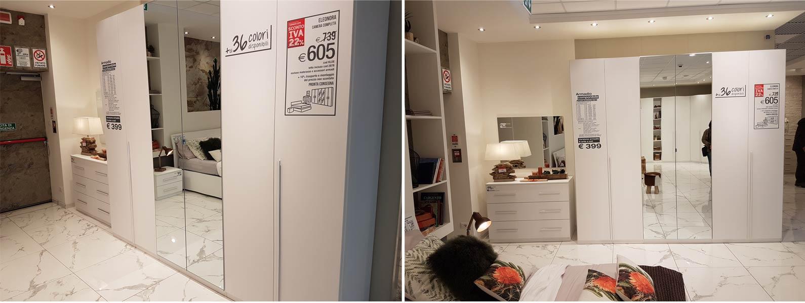 Camera Da Letto 2 Colori : Camere da letto mondo convenienza