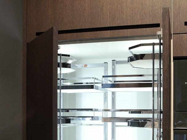 il sistema zero di rifra una cucina componibile che associa mirabilmente uno stile rustico ad unallure iper moderna i tratti estetici del sistema sono
