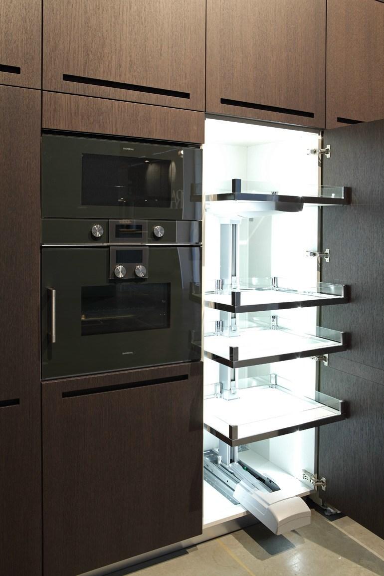cucina componibile con maniglia integrata zero - Componi Cucina