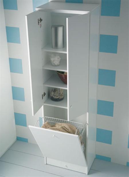 Eko colonna cesto 6660 cm 60x37x200 - Mobile bagno con portabiancheria ...