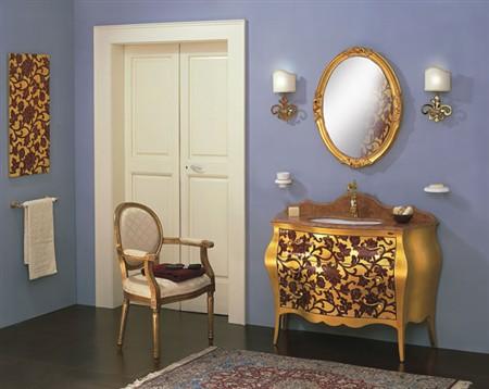 mobile bagno barocco 113
