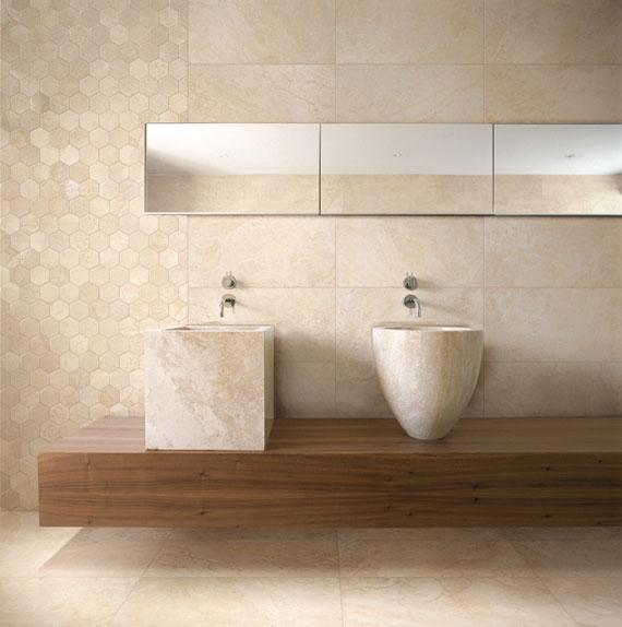 Bagno Con Mosaico Bianco: Piastrelle mosaico in bagno foto design mag.