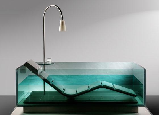 Vasche Da Bagno Water : Hoesch interpreta il sogno: nasce u201cwater loungeu201d