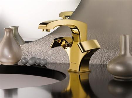 ceramica bagno fluida di newform: gold addiction oro lucido e ... - Ceramica Bagno Fluida Di Newform