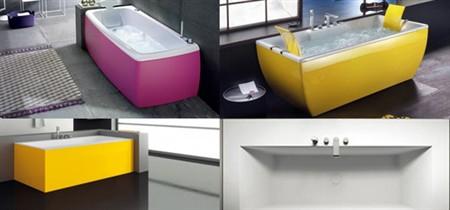 Vasche da bagno colorate: tutte le proposte più chic